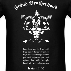 Jesus Brotherhood T  Front Only - Men's T-Shirt