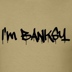 I am Banksy T-Shirts - Men's T-Shirt