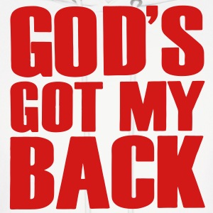 GOD'S GOT MY BACK Hoodies - Men's Hoodie
