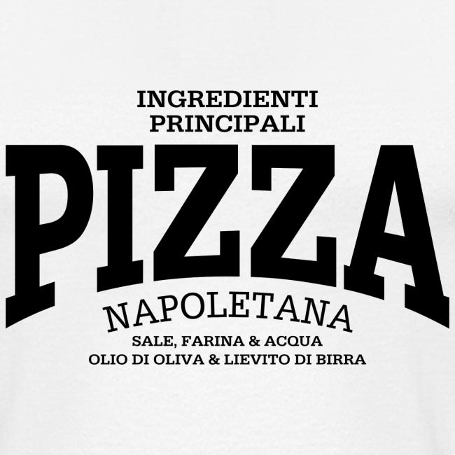 Pizza Napoletana (black)