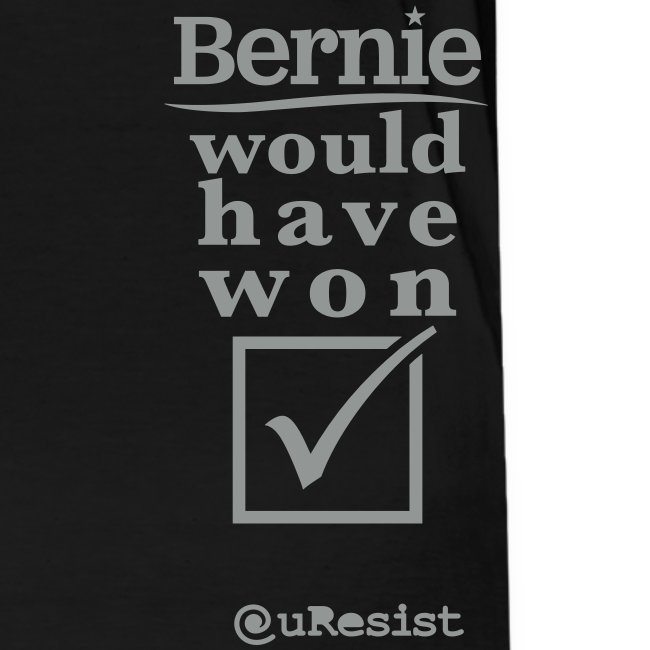 * Bernie Would Have Won! * (velveteen.print)
