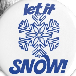 Let it SNOW - Small Buttons