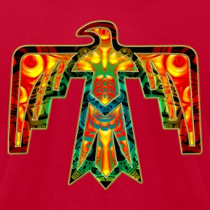Sacred Thunderbird - symbol power &  strength T-Shirts - Men's T-Shirt by American Apparel
