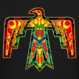 Sacred Thunderbird - symbol power &  strength Long Sleeve Shirts - Crewneck Sweatshirt