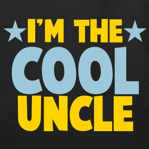 I'm the COOL uncle! Bags  - Eco-Friendly Cotton Tote