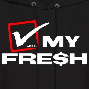 Check My Fre$h Mens Hoody SweatShirt by AiReal  - Men's Hoodie