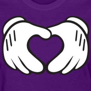 heart_hands - Women's T-Shirt