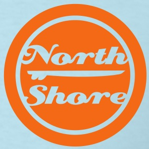 north shore Hawaii surfboard - Men's T-Shirt