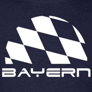 Bayern Bavaria flag t-shirt - Men's T-Shirt