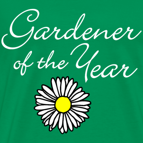 Gardener of the Year (White) with Daisy