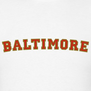 Baltimore College Style T-Shirt - Men's T-Shirt