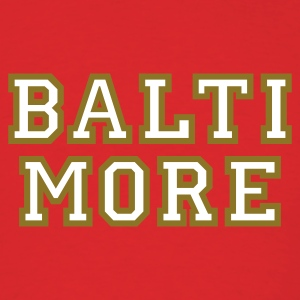 Baltimore T-Shirt College Style - Men's T-Shirt