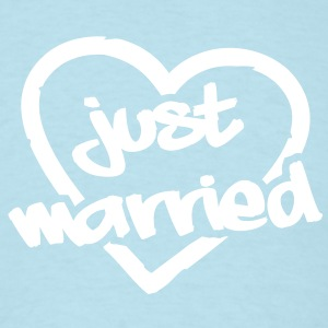 Just Married__V005 T-Shirts - Men's T-Shirt