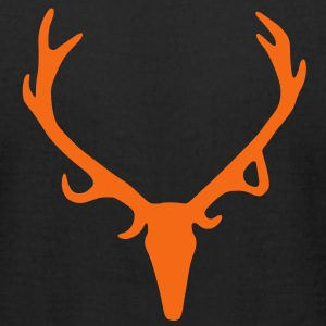 Antlers - Men's T-Shirt by American Apparel