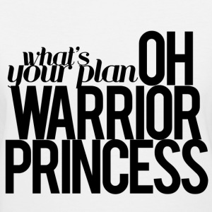 Warrior Princess Shirt - Women's V-Neck T-Shirt