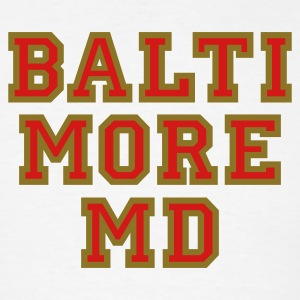 Baltimore MD College Style T-Shirt - Men's T-Shirt