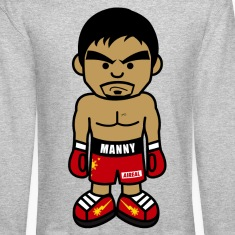 Angry Manny Mens Crewneck Sweatshirt by AiReal