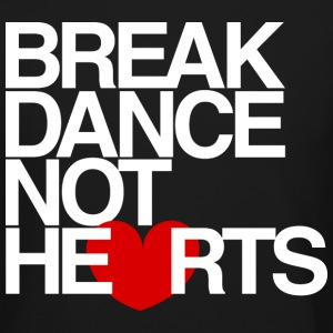 Break Dance Not Hearts Crewneck by AiReal - Crewneck Sweatshirt