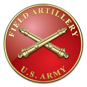 Field Artillery Branch Plaque