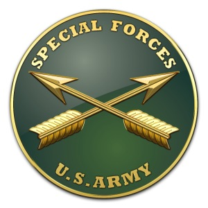 Army SF Branch Plaque