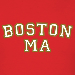 Boston MA T-Shirt College Style - Men's T-Shirt