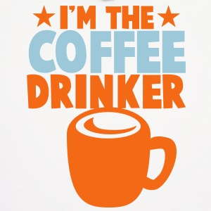 I'm the coffee DRINKER! with stars cool Hoodies - Men's Hoodie