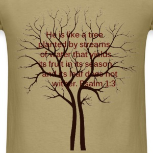 Psalm 1 T-Shirts - Men's T-Shirt