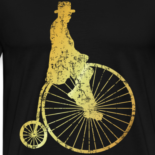 Penny-Farthing High-Wheel Bicycle (Ancient Gold)