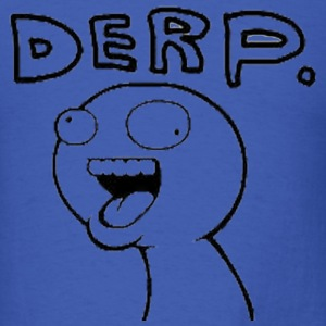 Derp T-Shirts - Men's T-Shirt