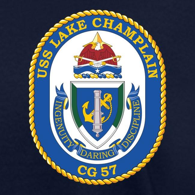 USS LAKE CHAMPLAIN CG-57 Crest Tee - Women's