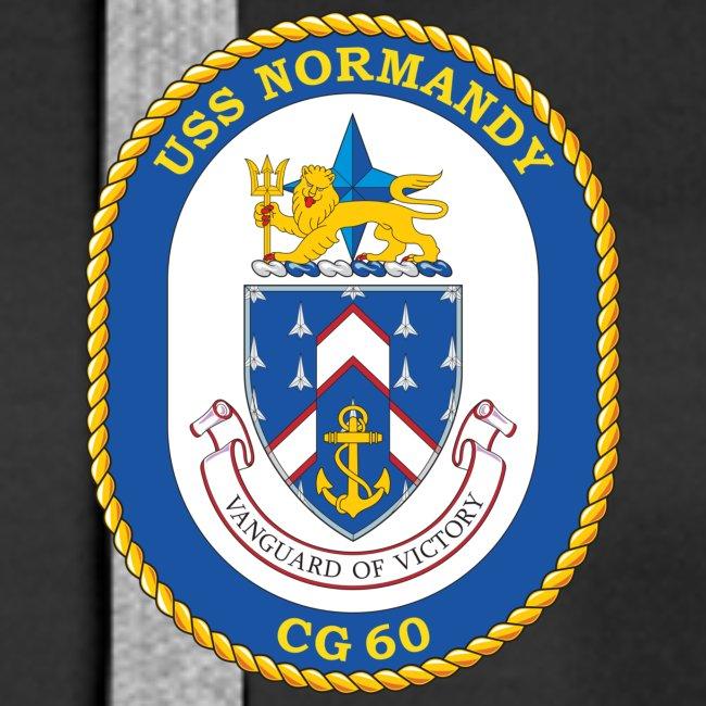 USS NORMANDY CG-60 Crest Hoodie - Women's