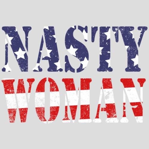 Nasty Woman US Flag