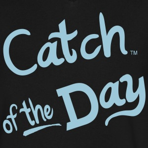 Catch Of The Day - Men's V-Neck T-Shirt by Canvas