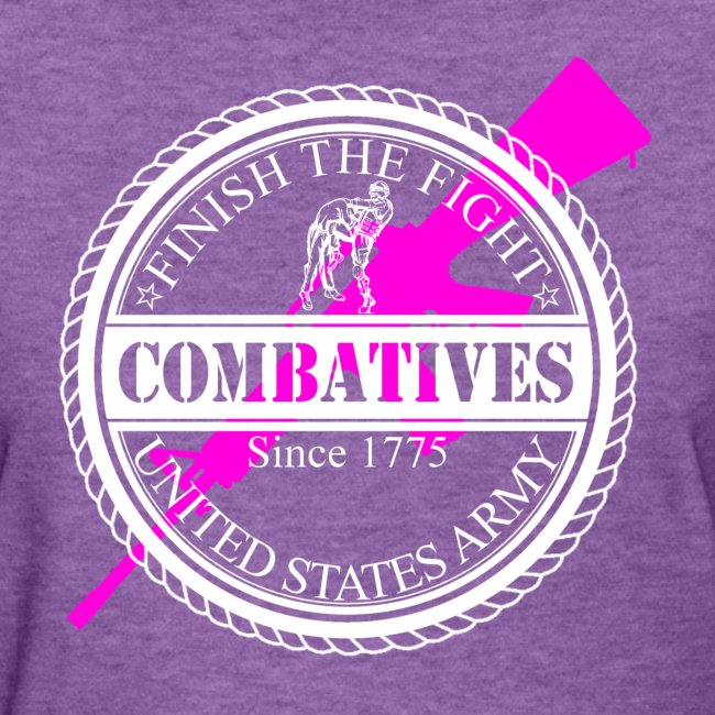 Finish The Fight - Pink