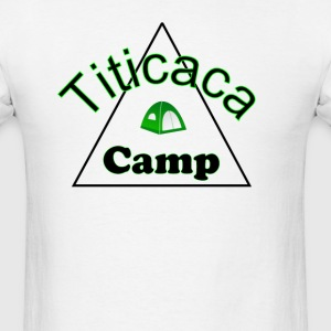 Titicaca camp ground funny campy trucker T-Shirts - Men's T-Shirt