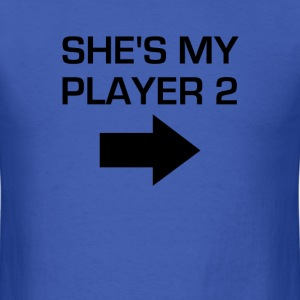 She's My Player 2 - Men's T-Shirt
