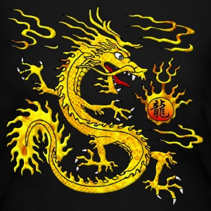Golden Dragon Long Sleeve Shirts - Women's Long Sleeve Jersey T-Shirt