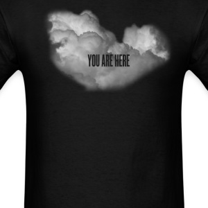 cloud you are here T-Shirts - Men's T-Shirt