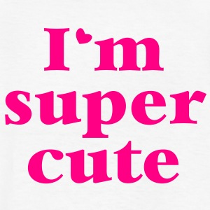 I'm SUPER CUTE good for babies and children design Kids' Shirts - Kids' T-Shirt