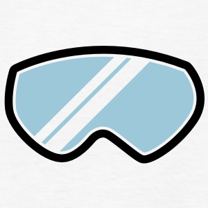 snow goggles WINTER season with reflection Kids' Shirts - Kids' T-Shirt