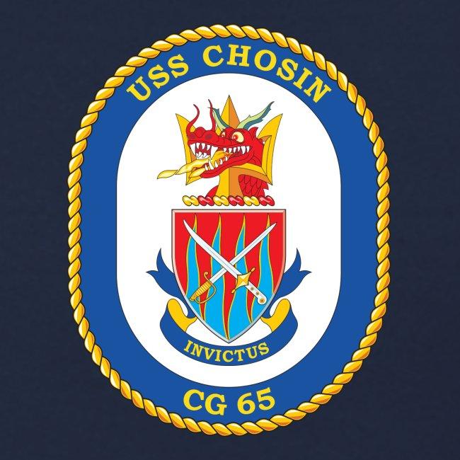 USS CHOSIN CG-65 Crest Sweatshirt