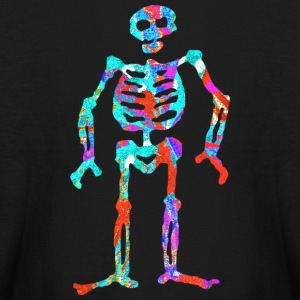 ELECTRIC NEON SKELETON Kids' Shirts - Kids' Long Sleeve T-Shirt