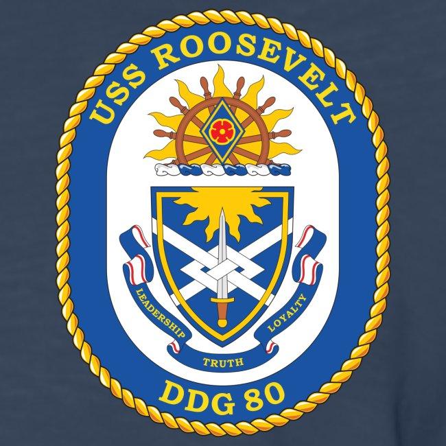 USS ROOSEVELT DDG-80 Crest Long Sleeve