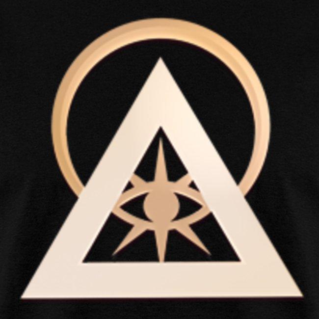 Illuminati  eye circle official logo