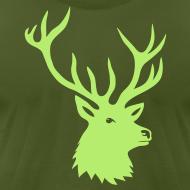 Design ~ animal t-shirt stag antler cervine deer buck night hunter bachelor