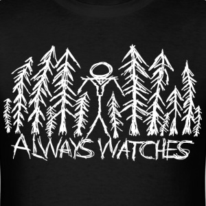 Black Always Watches  - Men's T-Shirt