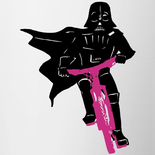 Vader on Bike
