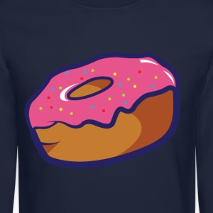 Donut.png Long Sleeve Shirts - Crewneck Sweatshirt