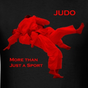 Frontfacing Judo Graphic 1 (Tee, Male) - Men's T-Shirt