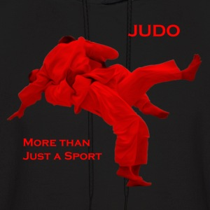 Judo - More than a Sport (Frontfacing) (Hoodie, Ma - Men's Hoodie